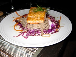 Salmon and Asian Noodles-Julian