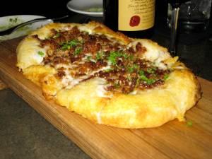 Veggie Sausage Flatbread-Terrene-St. Louis