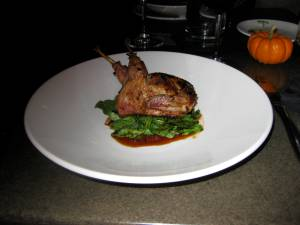 Quail stuffed with couscous-Terrene-St. Louis